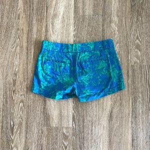 J crew printed shorts